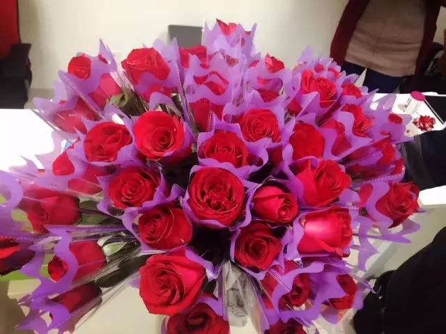 女神,今天你收花了吗?