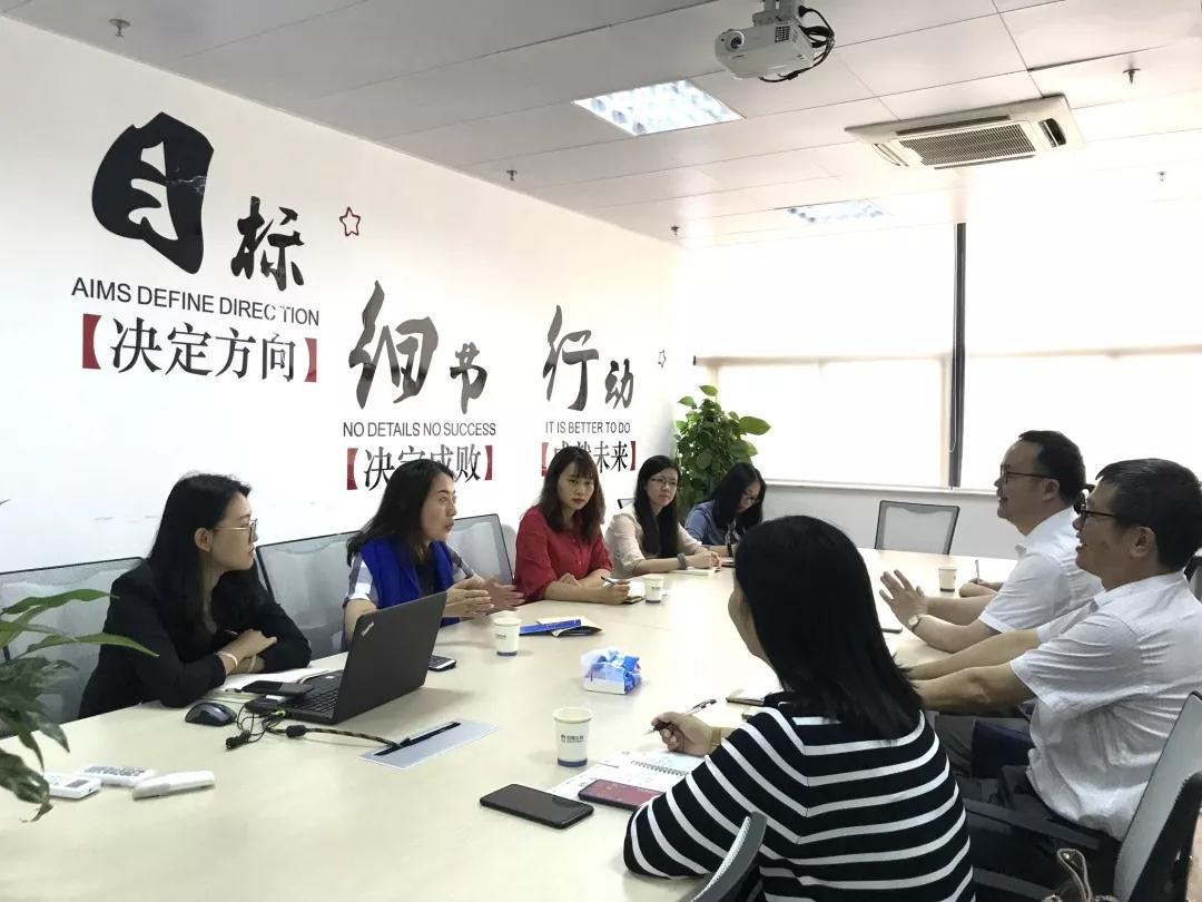 来访交流   广州市科学技术协会领导莅临冠昊科技园调研
