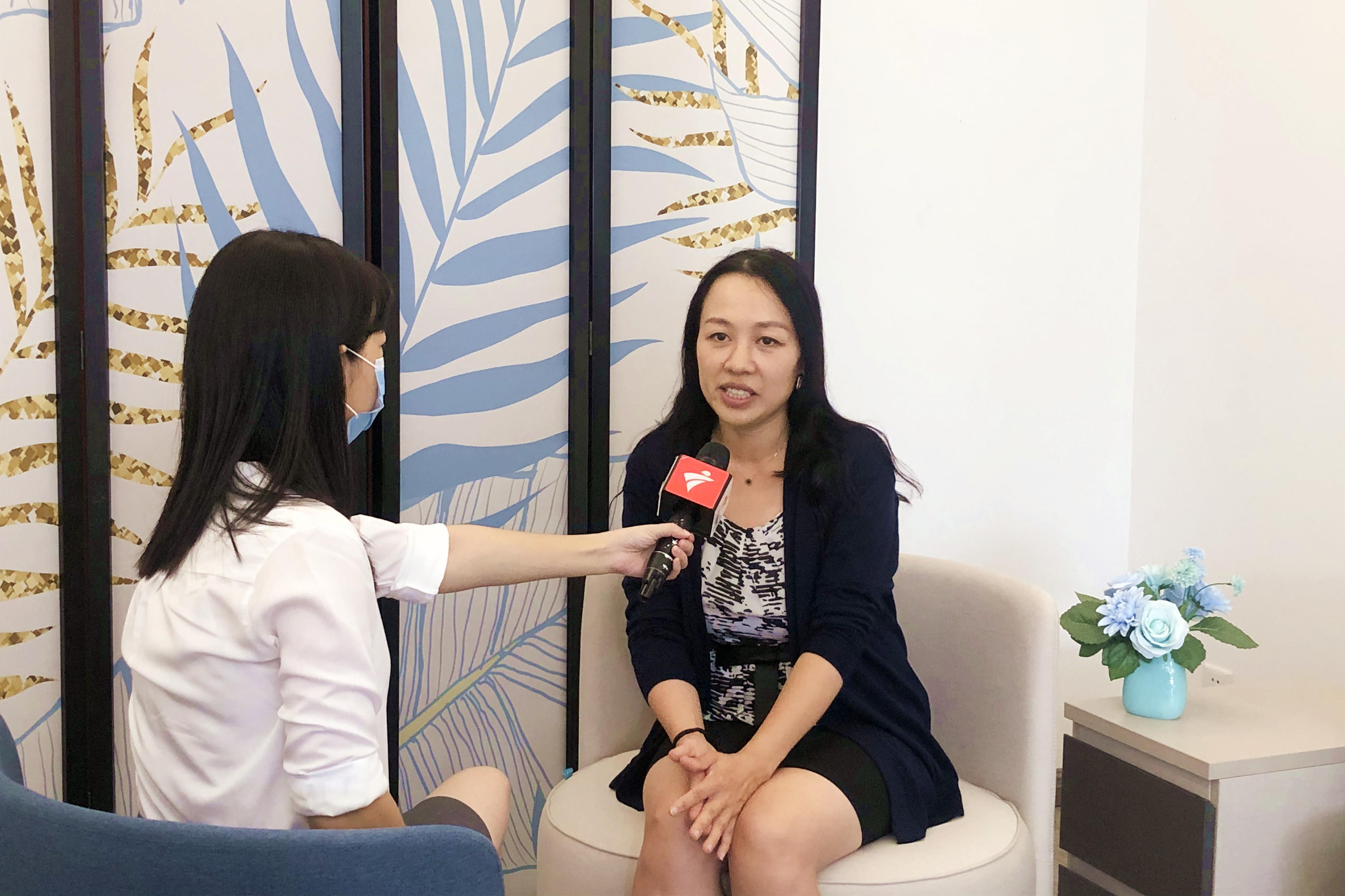 园区快讯 | 广东广播电视台记者采访园企领晟医疗创始人!